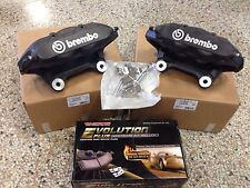 New 2008-10 Chevy Cobalt HHR SS LNF Turbo Brembo Calipers w/ Pads + pin kit