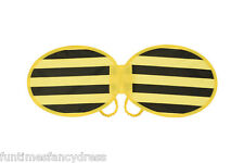 Children's Kids Sized Bumble Bee Wings Fairy Ugly Bug Ball Wings Fancy Dress