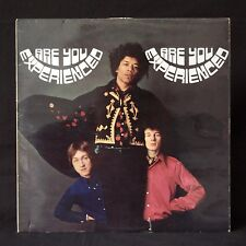 JIMI HENDRIX EXPERIENCE Are You Experienced UK 1st A1/B1 TRACK MONO LP