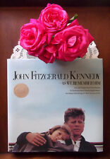 Jackie Jacqueline John Kennedy As We Remember Him HC book full of photographs