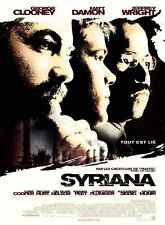 Bande annonce cinéma trailer 35mm 2005 SYRIANA Gaghan G Clooney M Damon J Wright