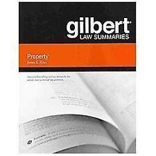 Gilbert Law Summaries: Gilbert Law Summaries on Property by James E. Krier...