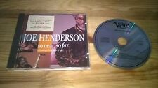 CD Jazz Joe Henderson - So Near, So Far (10 Song) VERVE UNIVERSAL