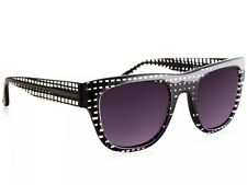 Sass & Bide Sunglasses Tulua SAS1209650 Black Check / Smoke