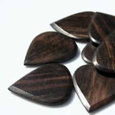 Timber Tones Blues Tone Guitar Pick - African Ebony  - Single Pick