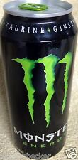 2007 FULL Monster Energy Drink Collectors 16 oz Bottled In 2007 RARE Old Can