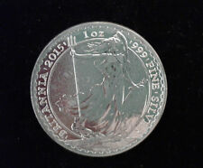 1oz Silver Britannia Coin - 1 Troy Ounce Royal Mint Fine 999 Silver Bullion Coin