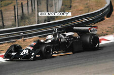 9x6 Photograph, Arturo Merzario ,F1 Wolf-Williams FW05 , Dutch GP Zandvoort 1976