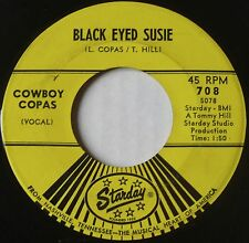 RARE COUNTRY BOPPER ~ COWBOY COPAS on STARDAY ~ BLACK EYED SUSAN 45 ~ HEAR IT!