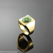 M. BUCCELLATI COCKTAIL / PINKY UNISEX RING 18K SOLID YELLOW GOLD US 5.75