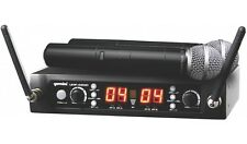 Gemini UHF-4200M Dual Handheld UHF Radio Wireless Microphone