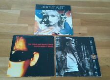 "Indie Alt Rock Job Lot 3x UK 7"" Adult Net Jesus and Mary Chain Spear Of Destiny"