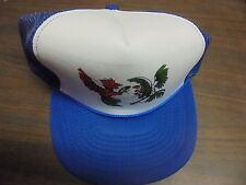 Mohr's Men's Blue ONE SIZE FITS ALL  Game Fighting  COCK ROOSTER Game Foul Hat