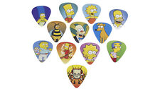 "Peavey Genuine "" THE SIMPSONS CHARACTERS PICK PACK 2 "" 12 Pack Guitar Picks"