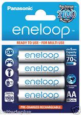 4 Pieces Panasonic Eneloop Batteries Mignon AA/1, 2V /2000mAh 4x Blister pack