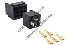 CX 30A 12V DC Auto Relay Connector Wiring Plug Assembly Terminal for Fuel ECU