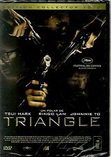 "DVD ""TRIANGLE""  COLLECTOR- RINGO LAM TSUI HARK JOHNNIE TO -NEUF SOUS BLISTER"