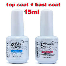 15ml Base Coat + Top Coat For Gelpolish Nail Art Soak-Off UV LED Gel Polish