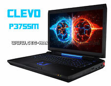 CHASSIS GEHÄUSE | 17,3 CLEVO P375SM | KEYBOARD + DISPLAY | WARRANTY 12 MONTHS ✔