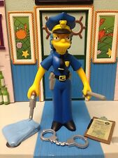 Playmates The Simpsons World of Springfield WoS Series 7 Officer Marge Figure