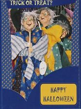 "~Post Card~""Halloween-""The 3 Puppet Witches...Trick or Treat"""