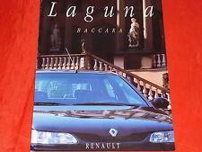 RENAULT Laguna Baccara Prospekt von 1995