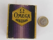 Rare Antique OMEGA Pocket Watch Advertising Box Switzerland -Art Deco