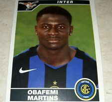 FIGURINA CALCIATORI PANINI 2004/05 INTER MARTINS ALBUM 2005