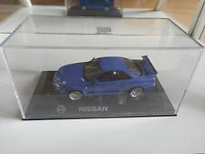 Kyosho Nissan Skyline GT-R R34 Nurburgring Testcar in Blue on 1:43 in Box