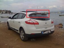 RENAULT MEGANE 3 MK3 5D 5 DOORS REAR ROOF SPOILER NEW