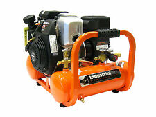 Industrial Air Contractor 4 Gal 155 PSI Pontoon Air Compressor Powered by Honda