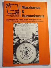 Marxistischer Studentenbund - MSB Spartakus - Marxismus & Humanismus - 1985/86
