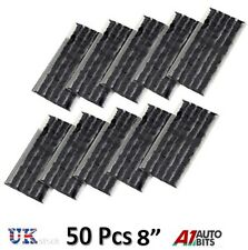 "50 x Tubeless Tire Tyre Puncture Repair Kit 8"" Strips Plug Car Van Truck Bike"