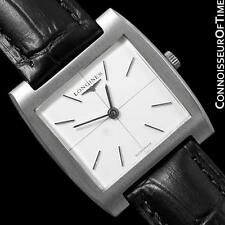 1970's LONGINES Vintage Mens Midsize Ultra Thin Retro Watch - Stainless Steel