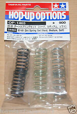 Tamiya 54465 XV-01 Dirt Spring Set (Hard, Medium, Soft) (XV-01T/DF-03Ra), NIP