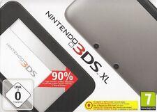 Nintendo 3DS  XL Spiele Konsole Spielekonsole in silber+schwarz Neu & OVP