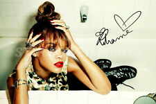 RIHANNA SIGNED PHOTO PRINT POSTER N.O 2 - 12 X 8 INCH  A+ QUALITY - UNAPOLOGETIC