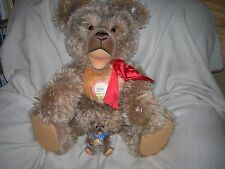 HUGE STEIFF ZOTTY TEDDY BEAR LTD.ED.1500 PCS 1953 REPLICA 30inch  408700 RETIRED