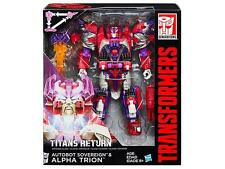 ALPHA TRION! Transformers TITANS RETURN, Voyager Class *** In Stock !!!