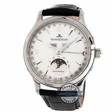 Jaeger-LeCoultre Master Calendar Q143842A Automatic Steel Mens Strap Watch Moon