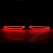 LED Rear Bumper Warning Light COB Car Brake Running Lamp For Volkswagen Golf 6