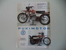 advertising Pubblicità 1976 MOTO CZ 250 ENDURO - PUKIMOTOR