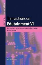 Lecture Notes in Computer Science: Transactions on Edutainment VI 6758 (2011,...