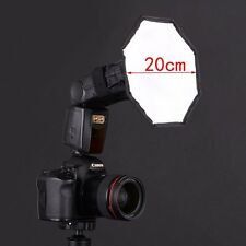"8"" Flash Strobe Octagon Umbrella Soft Box Diffuser for Yongnuo godox Speedlite"