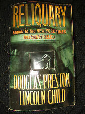 Reliquary 1ST EDITION, Douglas Preston, Lincoln Child Relic Sequel RARE PB