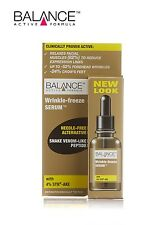 Balance Active Formula Wrinkle Freeze Serum 30 ml-All Skin Types-Paraben Free