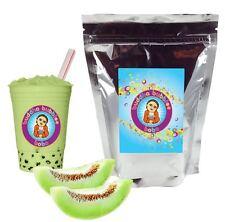 Honeydew Boba/ Bubble Tea Powder by Buddha Bubbles Boba (1 Pound | 453 Grams)