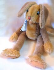 """Steiff - Large """"Lulac"""" the Funny Bunny with Button / RARE"""