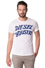 DIESEL Size S Men's DH-T-LOVE Printed Front Crew Neck T-Shirt Top - From POPPRI