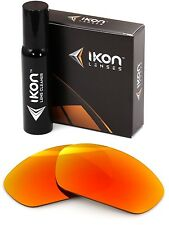 Polarized IKON Replacement Lenses For Oakley X-Metal Juliet Fire Orange Mirror
